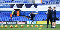 A Ipswich Town groundsman explains the lay of the land to a Preston North End staff member<br /> <br /> Photographer David Shipman/CameraSport<br /> <br /> The EFL Sky Bet Championship - Ipswich Town v Preston North End - Saturday 3rd November 2018 - Portman Road - Ipswich<br /> <br /> World Copyright &copy; 2018 CameraSport. All rights reserved. 43 Linden Ave. Countesthorpe. Leicester. England. LE8 5PG - Tel: +44 (0) 116 277 4147 - admin@camerasport.com - www.camerasport.com