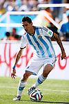 Angel Di Maria (ARG), JULY 1, 2014 - Football / Soccer : FIFA World Cup Brazil 2014 Round of 16 match between Argentina 1-0 Switzerland at Arena de Sao Paulo in Sao Paulo, Brazil. (Photo by D.Nakashima/AFLO)