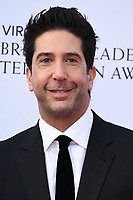 LONDON, UK. May 12, 2019: David Schwimmer arriving for the BAFTA TV Awards 2019 at the Royal Festival Hall, London.<br /> Picture: Steve Vas/Featureflash