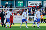 Rangers troop off after losing to Stirling Albion