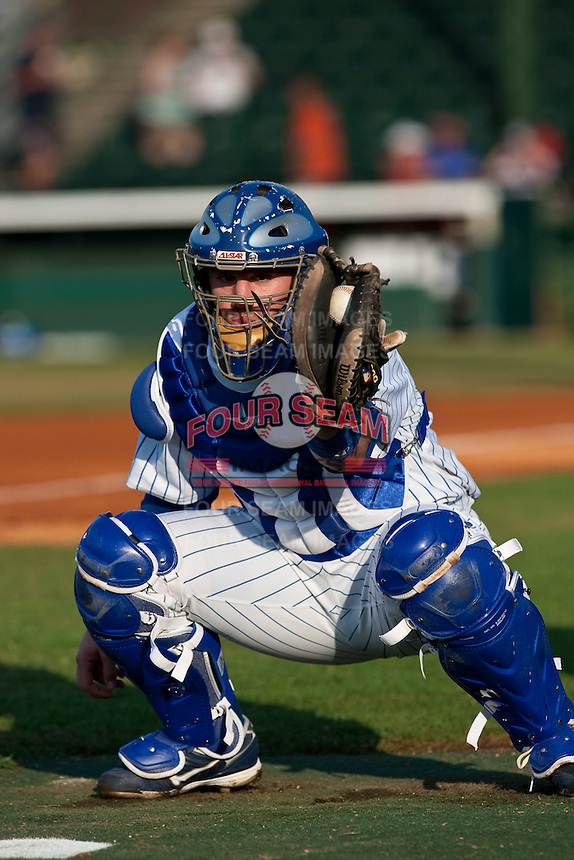 May 6 2010: Michael Brenly (18) of the Daytona Cubs during a game vs. the Clearwater Threshers at Jackie Robinson Ballpark in Daytona Beach, Florida. Daytona, the Florida State League High-A affiliate of the Chicago Cubs, lost the game against Clearwater, affiliate of the Philadelphia Phillies, by the score of 4-1.  Photo By Scott Jontes/Four Seam Images
