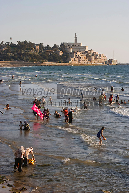Asie/Israel/Tel-Aviv-Jaffa: la plage