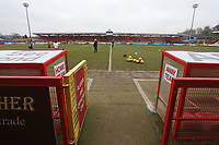 General view of the ground during Stevenage vs Luton Town, Sky Bet EFL League 2 Football at the Lamex Stadium on 10th February 2018
