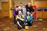 Dan Cronin, Stephen Brosnan, Iwona Ciesla, Helen O'Sullivan, Luke Mulligan, Batt Healy from Killarney at the Kerry ETB  Education, Training and Opportunities fair  at the Brandon Hotel on Thursday