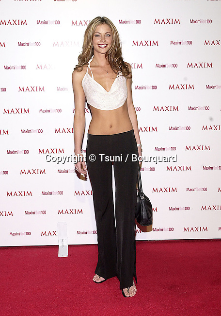 "Summer Altice arriving at the party organize by The Magazine Maxim "" Hot 100 ""  at Moomba club in Los Angeles  5/3/2001AlticeSummer07A.JPG"