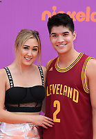 LOS ANGELES, CA July 13- Lauren Riihimaki, Alex Wassabi, At Nickelodeon Kids' Choice Sports Awards 2017 at The Pauley Pavilion, California on July 13, 2017. Credit: Faye Sadou/MediaPunch
