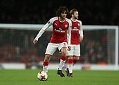 7th December 2017, Emirates Stadium, London, England; UEFA Europa League football, Arsenal versus BATE Borisov; Francis Coquelin of Arsenal on the ball
