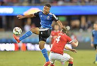 San Jose, Ca - Tuesday, July 21, 2015: Manchester United defeated the San Jose Earthquakes 3-1 in the Champions Cup at Avaya Stadium.