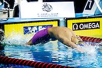 AL-OBAIDLY Abdulaziz QAT<br /> 50 Backstroke men<br /> FINA Airweave Swimming World Cup 2015<br /> Doha, Qatar 2015  Nov.2 nd - 3 rd<br /> Day3 - Nov. 3rd<br /> Photo G. Scala/Deepbluemedia/Insidefoto