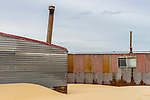 Shack in Tin City, Stockton Sand Dunes, Anna Bay, NSW, Australia