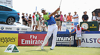 Groundhog day destroyed. Jaco Van Zyl (RSA) overcomes the troubles during R2 to set a -10 target with a score of 64 during Round Three of the 2015 Alstom Open de France, played at Le Golf National, Saint-Quentin-En-Yvelines, Paris, France. /04/07/2015/. Picture: Golffile | David Lloyd<br /> <br /> All photos usage must carry mandatory copyright credit (© Golffile | David Lloyd)