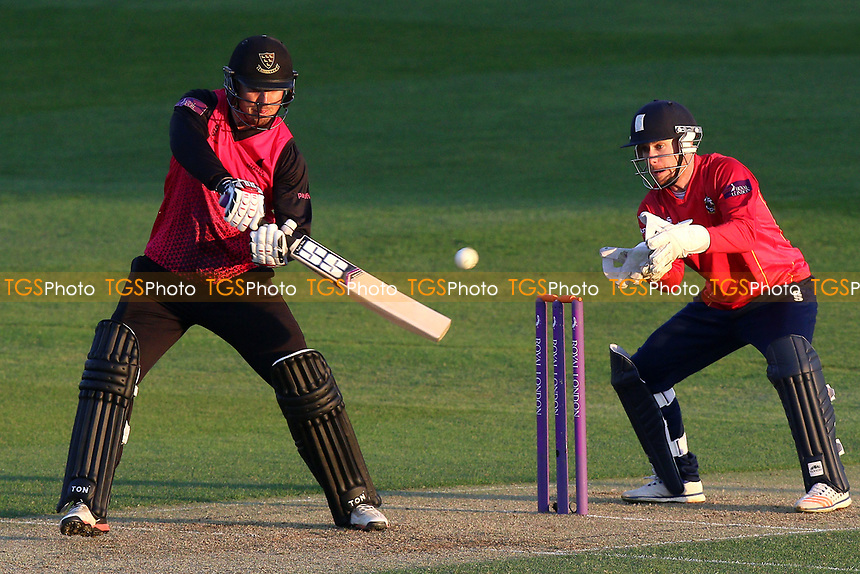 Stiaan van Zyl in batting action for Sussex during Essex Eagles vs Sussex Sharks, Royal London One-Day Cup Cricket at The Cloudfm County Ground on 10th May 2017