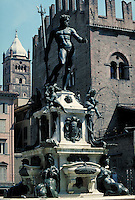 Neptune fountain. Neptune. Florence Tuscany Italy Europe.