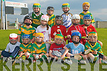 KILMOYLEY: The Kilmoyley Hurling team who hosted the Hurling Blitz at Kilmoyley Hurling Club on Monday evening front l-r: Rhys Twomey, Ronan Walsh, Dara Nolan, David Leen, Killian Monaghan and Evan Griffin. Centre l-r: Liam Griffin, Triona Curren, Sara O'Sullivan, Ciaran Monaghan and Philip Maunsell. Back l-r: Thomas Curren, Liam Flaherty, David Godley and Kian O'Regan.    Copyright Kerry's Eye 2008