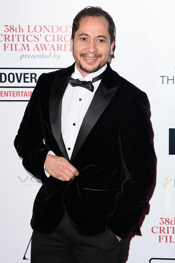 Nick Lavelle<br /> arriving for the Critic's Circle Film Awards 2018, Mayfair Hotel, London<br /> <br /> <br /> ©Ash Knotek  D3374  28/01/2018