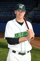 June 27th 2008:  Kevin Mattison of the Jamestown Jammers, Class-A affiliate of the Florida Marlins, during a game at Russell Diethrick Park in Jamestown, NY.  Photo by:  Mike Janes/Four Seam Images
