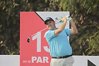 Anthony Wall (ENG) in action on the 13th during Round 2 of the Hero Indian Open at the DLF Golf and Country Club on Friday 9th March 2018.<br /> Picture:  Thos Caffrey / www.golffile.ie<br /> <br /> All photo usage must carry mandatory copyright credit (&copy; Golffile | Thos Caffrey)