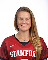 STANFORD, CA - August 16, 2019: Frances Carstens on Field Hockey Photo Day.