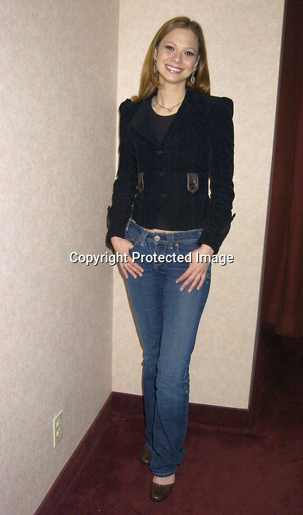 Tamara Braun of General Hospital ..at a luncheon for Tamara Braun on January 29, 2005 ..at The Marriott Marquis Hotel in New York City...Photo by Robin Platzer, Twin Images