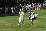 Rory McIlroy playing his second on the 4th.during round three of the BMW PGA championship 2010 at Wentworth golf club, Surrey England..Picture Fran Caffrey/Newsfile.ie