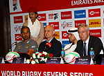 Press Conference 28 November, Dubai Sevens 2018 at The Sevens for HSBC World Rugby Sevens Series 2018, Dubai - UAE - Photos Martin Seras Lima