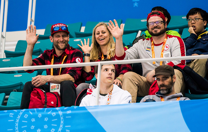PyeongChang 15/3/2018 - Alpine in the house as Canada takes on Korea in semifinal hockey action at the Gangneung Hockey Centre during the 2018 Winter Paralympic Games in Pyeongchang, Korea. Photo: Dave Holland/Canadian Paralympic Committee