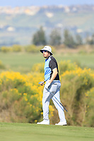 Ryan Evans (ENG) during the third round of the Rocco Forte Sicilian Open played at Verdura Resort, Agrigento, Sicily, Italy 12/05/2018.<br /> Picture: Golffile | Phil Inglis<br /> <br /> <br /> All photo usage must carry mandatory copyright credit (&copy; Golffile | Phil Inglis)