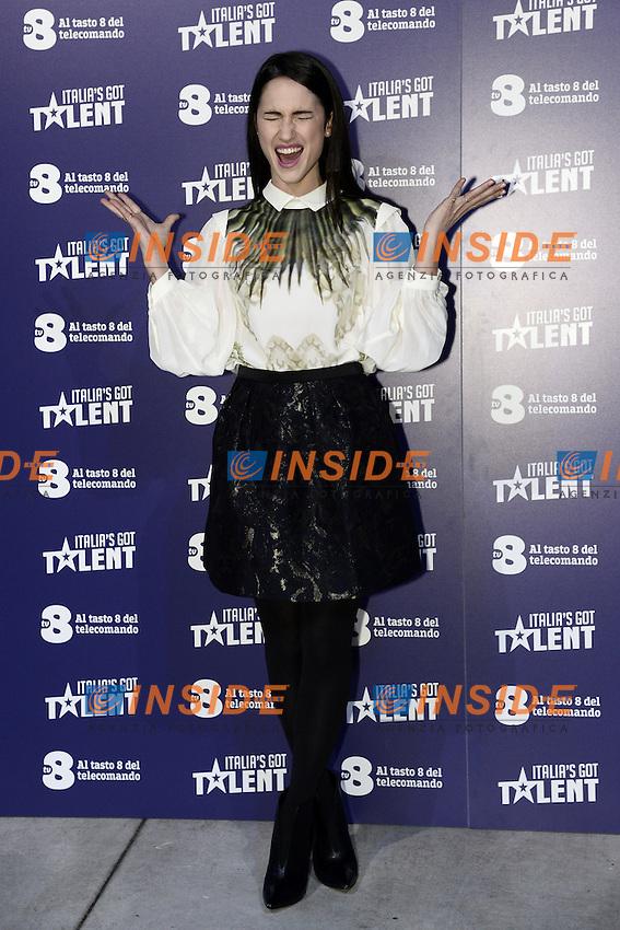 Milano 20-02-2017 - photocall trasmissione TV 'Italian's got talent' / foto Daniele Buffa/Image/Insidefoto  <br /> nella foto: Lodovica Comello