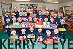 All the pupils from Scoil an Ghleanna in Ballinskelligs with their Team Hope Christmas Shoe Boxes pictured here on Thursday before the collection.