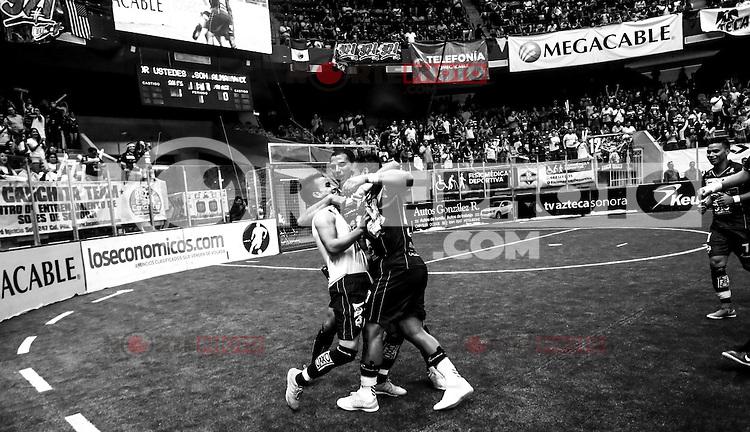 Acciones, durante la final de la Major Arena Soccer League (MASL),  entre Soles de Sonora vs Baltimore Blast. Centro de Usos Multiples (CUM), Hermosillo Sonora a 15 Abril 2016. ***Foto: Luis Gutierrez.