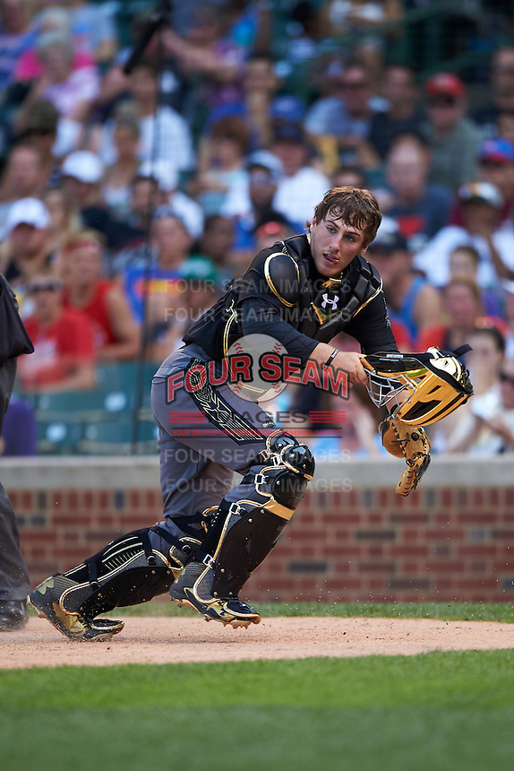 Thomas Dillard (7) of Oxford High School in Greenwood, Mississippi during the Under Armour All-American Game on August 15, 2015 at Wrigley Field in Chicago, Illinois. (Mike Janes/Four Seam Images)