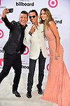 CORAL GABLES, FL - APRIL 30: Jorge Bernal, Marc Anthony and Shannon de Lima arrives at 2015 Billboard Latin Music Awards presented by State Farm on Telemundo at Bank United Center on April 30, 2015 in Coral Gables, Florida. ( Photo by Johnny Louis / jlnphotography.com )