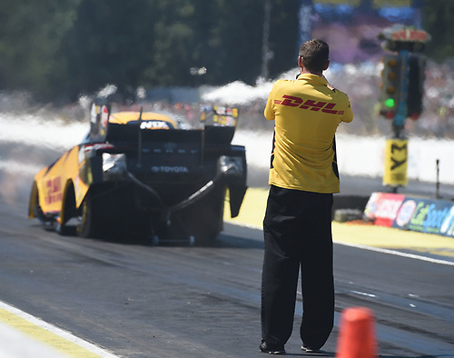 J.R. Todd, DHL, Funny Car, Camry