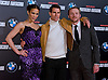 """PAULA PATTON, TOM CRUISE AND SIMON PEGG.attend the premiere of his latest film 'Mission: Impossible - Ghost Protocol'Madrid, Spain_12/12/2011.Mandatory Credit Photo: ©NEWSPIX INTERNATIONAL..                 **ALL FEES PAYABLE TO: """"NEWSPIX INTERNATIONAL""""**..IMMEDIATE CONFIRMATION OF USAGE REQUIRED:.Newspix International, 31 Chinnery Hill, Bishop's Stortford, ENGLAND CM23 3PS.Tel:+441279 324672  ; Fax: +441279656877.Mobile:  07775681153.e-mail: info@newspixinternational.co.uk"""