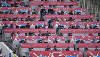 FUSSBALL FIFA Confed Cup 2017 Vorrunde in Sotchi 19.06.2017  Australien - Deutschland  Pressetribuen im Fisht Stadion in Sotschi