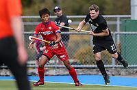 Stephen Jenness in action. International Hockey, Blacksticks Men v Japan, TET Multisport Centre, Stratford, New Zealand. Saturday 12 October 2019. Photo: Simon Watts/www.bwmedia.co.nz/HockeyNZ