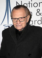 LOS ANGELES, CA - DECEMBER 5: Larry King, at The National Film and Television Awards at The Globe Theater in Los Angeles, California on December 5, 2018. <br /> CAP/MPI/FS<br /> &copy;FS/MPI/Capital Pictures