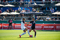 Tacoma, WA - Monday, May 27, 2019: Reign FC vs North Carolina Courage at Cheney Stadium.