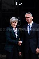 10.05.2017 - NATO Secretary General Jens Stoltenberg Visits 10 Downing St.