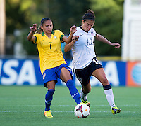 Carli Lloyd, Debinha.  The USWNT defeated Brazil, 4-1, at an international friendly at the Florida Citrus Bowl in Orlando, FL.