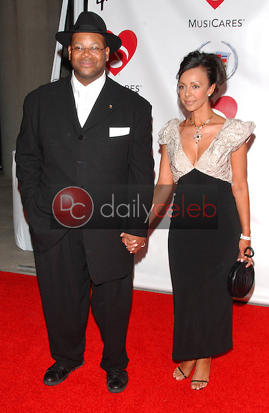 Jimmy Jam and friend<br />
