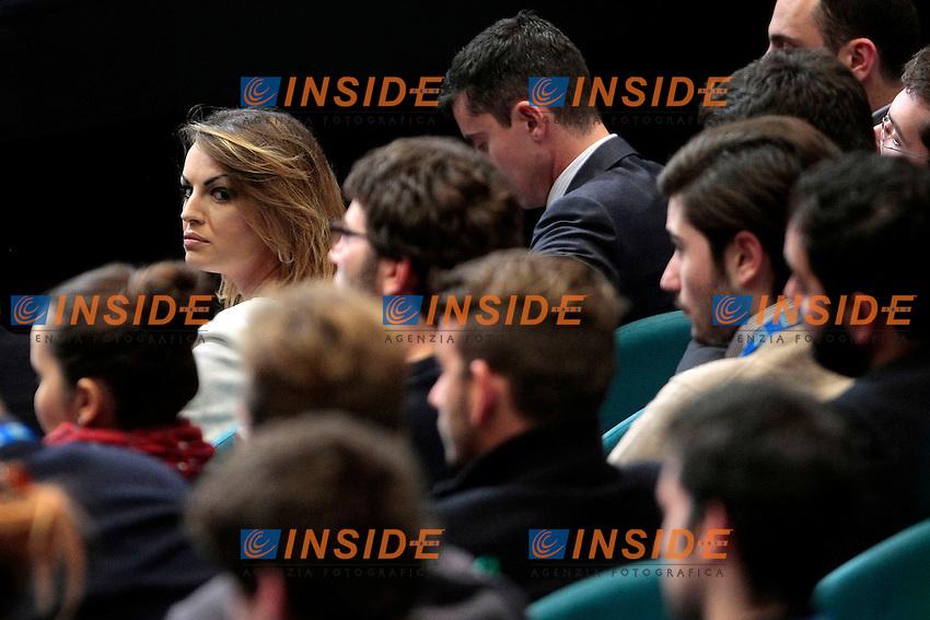 Francesca Pascale<br /> Roma 23-11-2013 Palazzo dei Congressi. Incontro dei Giovani di Forza Italia - Giovane Italia.<br /> Meeting of the youth of Forza Italia.<br /> Photo Samantha Zucchi Insidefoto