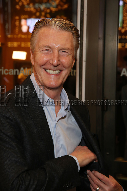 Byron Jennings attends the Broadway Opening Night performance of The Roundabout Theatre Company production of 'Time and The Conways'  on October 10, 2017 at the American Airlines Theatre in New York City.