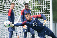 Minneapolis, MN - June 14, 2019: The USMNT  train at MNUFC National Sports Center.