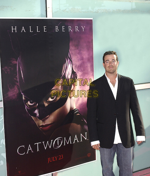 Carson Daly .Warner Brothers' World Premiere of Catwoman held at The Arclight Cinerama Dome Theatre in Hollywood, California on July 19,2004..half length .Ref: DVS.www.capitalpictures.com.sales@capitalpictures.com.©Capital Pictures.