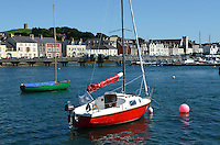 Portaferry, Co Down, N Ireland, UK, port, harbour, marina, 201208180543..Copyright Image from Victor Patterson, 54 Dorchester Park, Belfast, UK, BT9 6RJ..Tel: +44 28 9066 1296.Mob: +44 7802 353836.Voicemail +44 20 8816 7153.Skype: victorpattersonbelfast.Email: victorpatterson@me.com.Email: victorpatterson@ireland.com (back-up)..IMPORTANT: If you wish to use this image or any other of my images please go to www.victorpatterson.com and click on the Terms & Conditions. Then contact me by email or phone with the reference number(s) of the image(s) concerned.