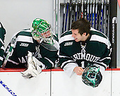 James Mello (Dartmouth - 30), Jody O'Neill (Dartmouth - 1) - The Harvard University Crimson defeated the Dartmouth College Big Green 4-1 (EN) on Monday, January 18, 2010, at Bright Hockey Center in Cambridge, Massachusetts.