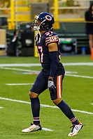 Chicago Bears cornerback Bryce Callahan (37) during a National Football League game against the Green Bay Packers on September 28, 2017 at Lambeau Field in Green Bay, Wisconsin. Green Bay defeated Chicago 35-14. (Brad Krause/Krause Sports Photography)