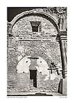 Stone chapel ruins, San Juan Capistrano by Larry Angier.
