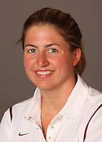 STANFORD, CA - SEPTEMBER 10:  Kelsey Ditto of the Stanford Cardinal during women's swimming picture day on September 10, 2009 in Stanford, California.